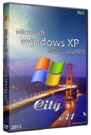 Windows XP Professonal City v11 2013
