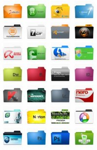 Program Folders Icons Pack 1, Pack 2 and Pack 3