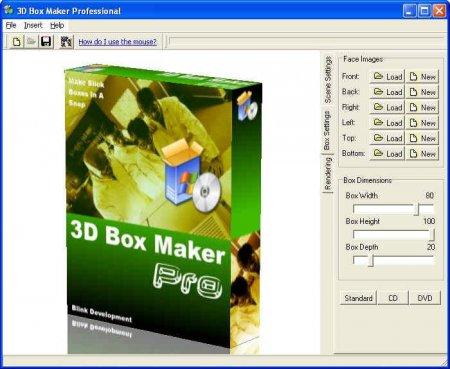 3D Box Maker Professional 2.1 + Rus + Serial