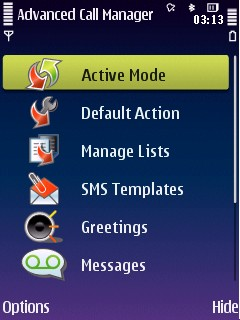 Advanced Call Manager v.2.78