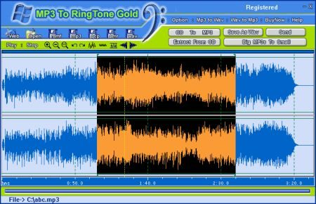 MP3 To Ringtone Gold 8.0