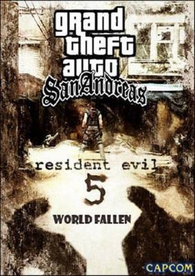 Grand Theft Auto: San Andreas - Resident Evil 5 World Fallen 2011