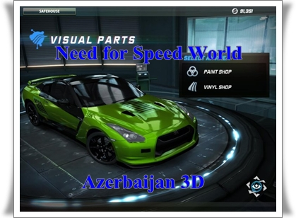 Need for Speed World Azerbaijan 3D