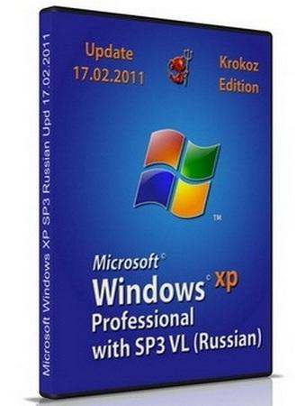 Windows XP Pro SP3 Final С…86 Krokoz Edition (17.02.2011)