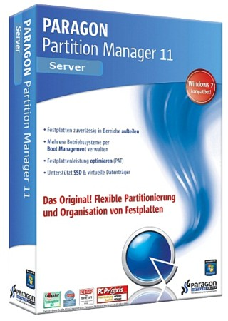 Paragon Partition Manager 11 Server 10.0.10.11287 (x86/x64)