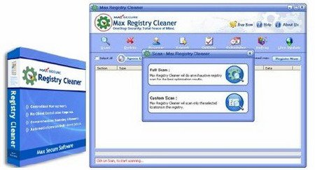 Max Registry Cleaner 6.0.0.046
