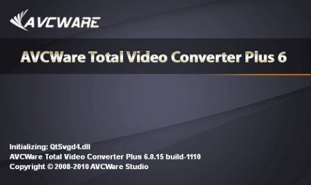 AVCWare Total Video Converter Plus 6.0.15.1110