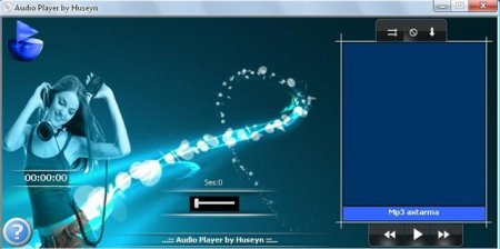 Audio Player by Huseyn