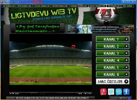LigTvDevu Web TV 6.0