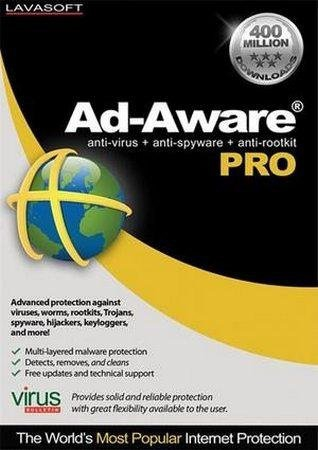 Lavasoft Ad-Aware Pro Internet Security 9.5.0 Final (С…86/С…64)
