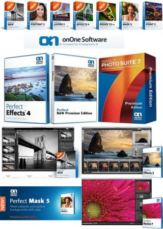 OnOne Premium Editions AIO Pack [18.05.2013] For Photoshop Plugins