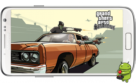 Grand Theft Auto: San Andreas Apk+SD [ANDROID]