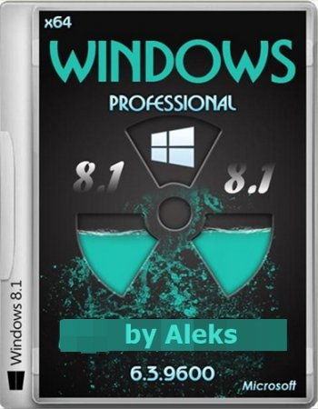 Windows 8.1 Professional by Aleks v.28.01.2014 (x64) (2014) RUS