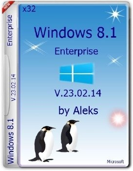 Windows 8.1 Enterprise v.23.02.14 by Aleks (x86)