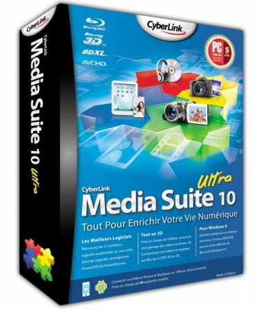 Cyberlink Media Suite 10 Ultra 10.00.152603