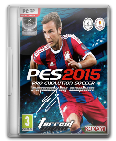Pro Evolution Soccer 2015 RePack By C3YHUN