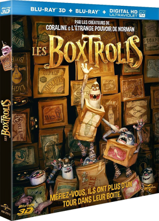 Bokstrollar / Семейка монстров / The Boxtrolls (2014) HDRip [ruscağ