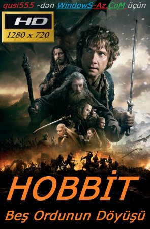 Hobbit: Beş Ordunun Döyüşü / РҐРѕР±Р±РёС': Битва пяти воинств / The Hobbit: The Battle of the Five Armies (2014) BDRip 720p [Rusca/ITunes]