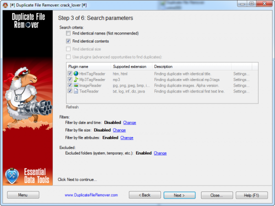 Duplicate File Remover 3.6.24 Build 0 + Rus
