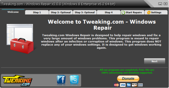 Windows Repair Free 4.3.0 + Portable