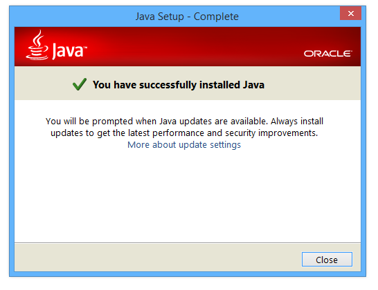 Sun Java SE Runtime Environment 8 Update 60 + x64 / 7.0 Update 75 / 9 Build 53 Early Access