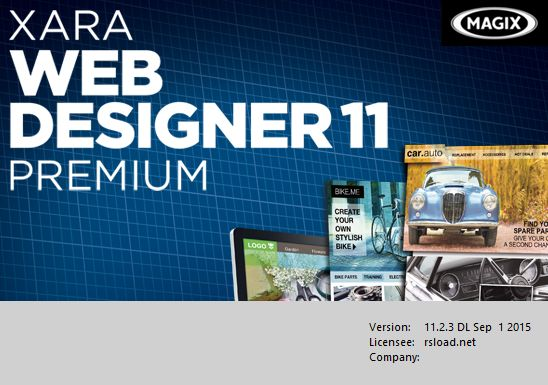 Xara Web Designer Premium v11.2.3 Build 40788 + x64