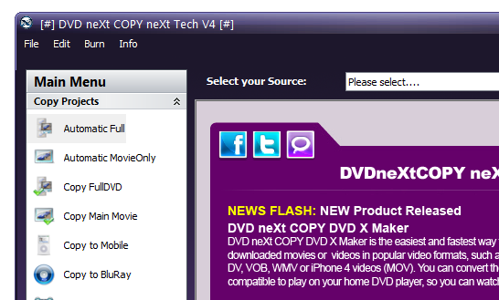 DVD neXt COPY neXt Tech Edition v4.4.9.4