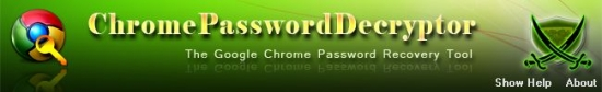 ChromePasswordDecryptor v7.0