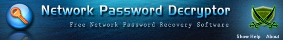 Network Password Decryptor v8.0