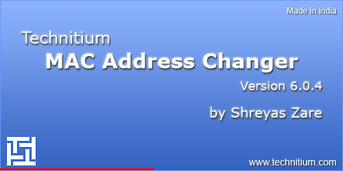 Technitium MAC Address Changer v6.0.7