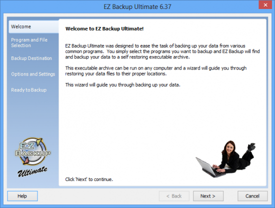 EZ Backup Ultimate 6.37