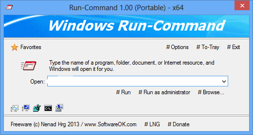 Run-Command 2.55 + x64 + Portable