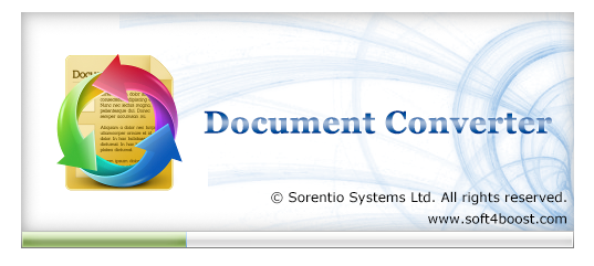 Soft4Boost Document Converter 4.1.3.259