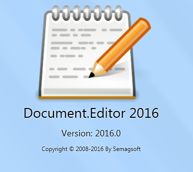 Document.Editor 2016