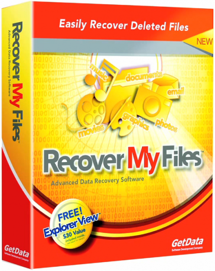 GetData Recover My Files Professional v5.2.1.1964 + Portable