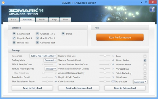 Futuremark 3DMark 2.3.3693 Professional Edition RePack / 11 Advanced Edition 1.0.5