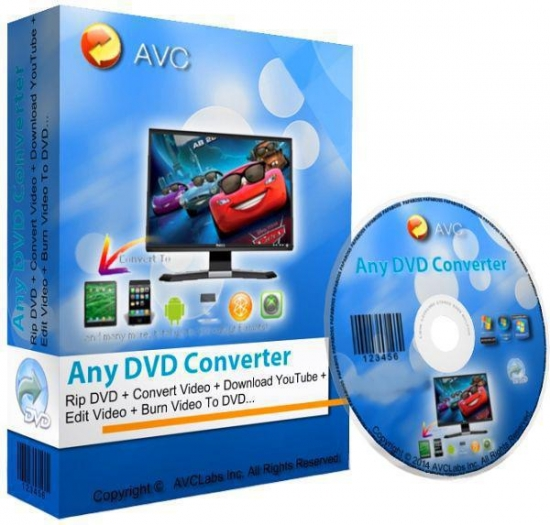 Any DVD Converter Professional v5.8.4