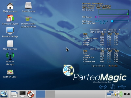 Parted Magic 2016.01.06 Final + x64