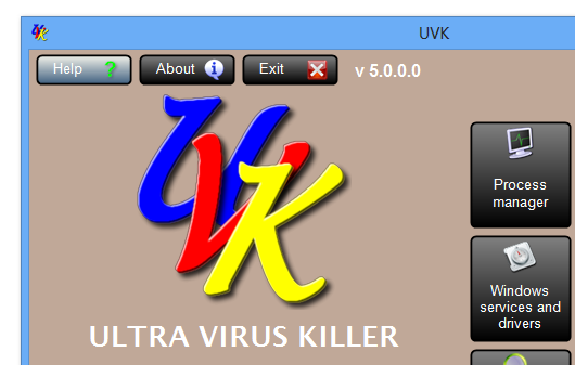UVK Ultra Virus Killer 7.7.0.0 + Portable