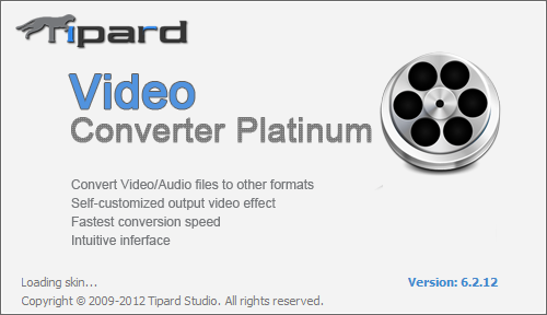 Tipard Video Converter Ultimate 9.0.18 / Pro 6.2.16 + Rus / Platinum 6.2.36
