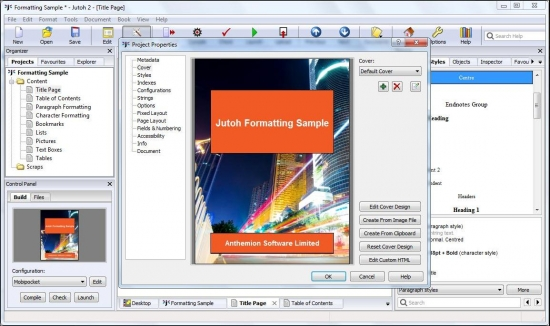 Anthemion Software Jutoh 2.35.0