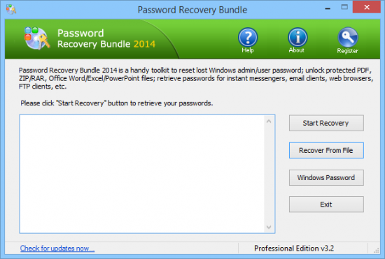 Password Recovery Bundle 2015 Enterprise Edition 3.5