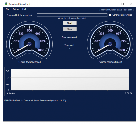 Download Speed Test 1.0.27