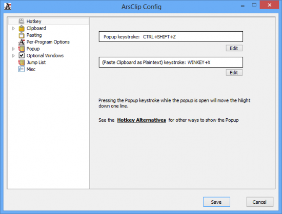 ArsClip 5.07 Final / 5.08 Beta 8