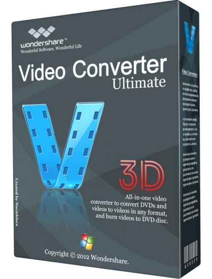 Wondershare Video Converter Ultimate 8.6.0 + Rus