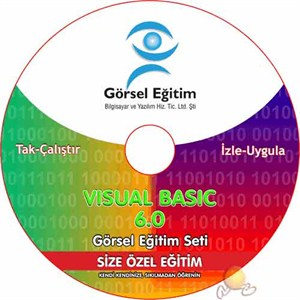 Visual Basic 6.0 Video Təhsil Seti \ Visual Basic 6.0 Görsel Eğitim Seti [5 CD] [Türkcə]