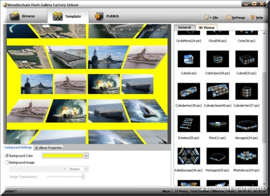 Wondershare Flash Gallery Factory Deluxe 5.2.1