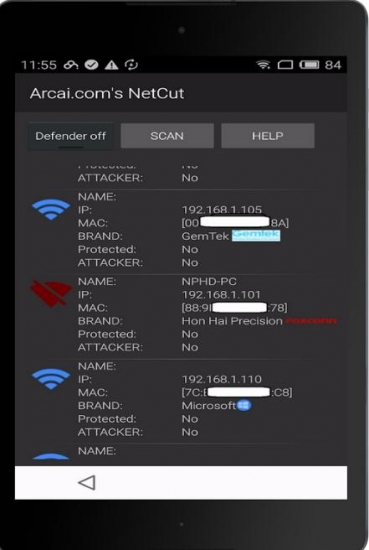 NetCut 1.0.26 for Android