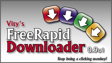 FreeRapid Downloader 0.9 Update 4