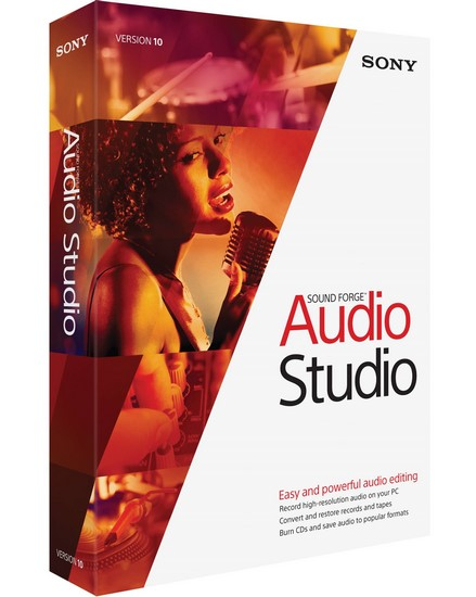 MAGIX Sound Forge Audio Studio 10.0 Build 295 + Portable
